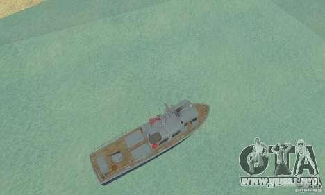 Coast Guard Patrol Boat para la visión correcta GTA San Andreas