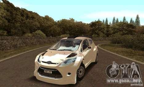 Ford Fiesta Rally para visión interna GTA San Andreas