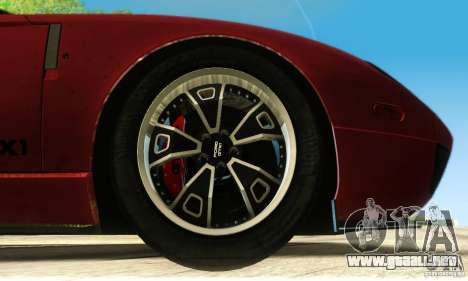 Ford GTX1 Roadster V1.0 para vista inferior GTA San Andreas