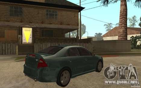 Ford Fusion 2010 para la visión correcta GTA San Andreas