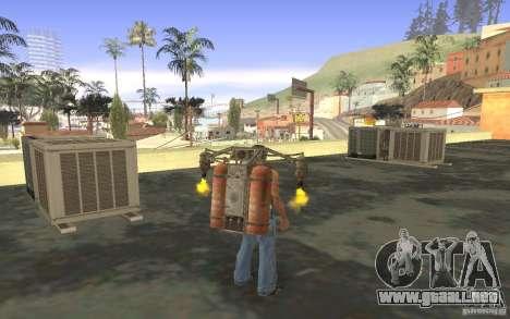 Jetpack en el estilo de la URSS para GTA San Andreas octavo de pantalla