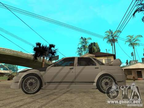 VAZ 2110 WRC 2.0 para GTA San Andreas left