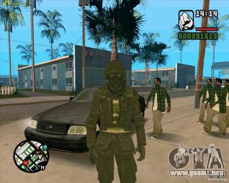 Piel SAS para GTA San Andreas