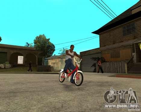 Tair GTA SA de la bici para la visión correcta GTA San Andreas