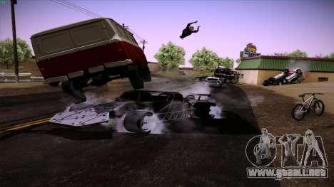 Tirón auto de Furious 6 para vista inferior GTA San Andreas