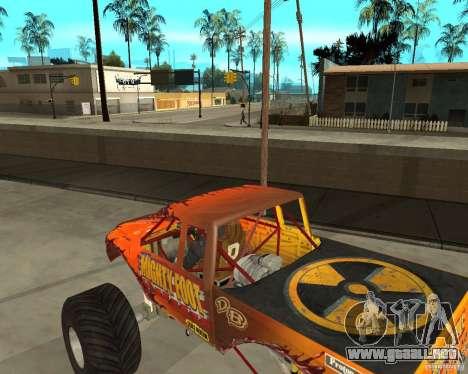 Mighty Foot para la visión correcta GTA San Andreas