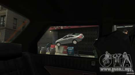 Mercedes-Benz E 500 Coupe V2 para GTA 4 interior