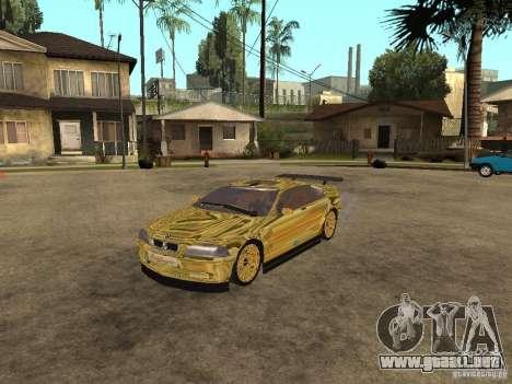 BMW M3 Goldfinger para GTA San Andreas