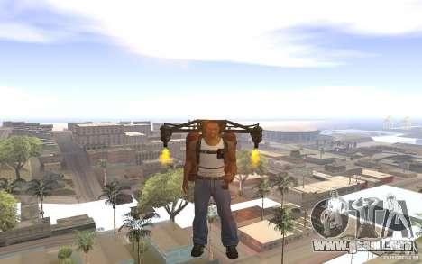 Jetpack en el estilo de la URSS para GTA San Andreas sucesivamente de pantalla