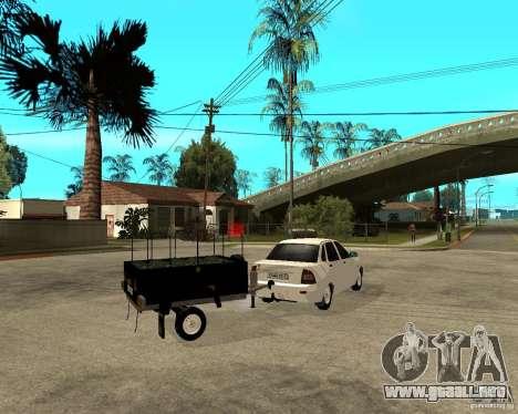2170 LADA Priora luz tuning y remolque para GTA San Andreas