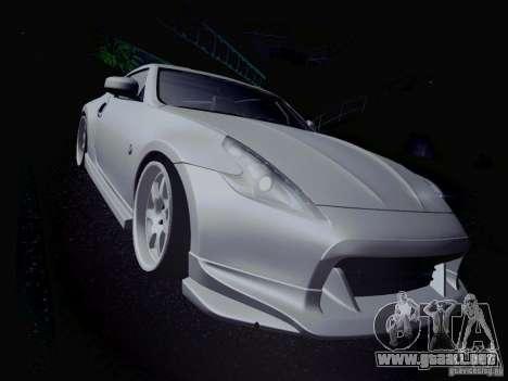 Nissan 370Z Fatlace para GTA San Andreas interior