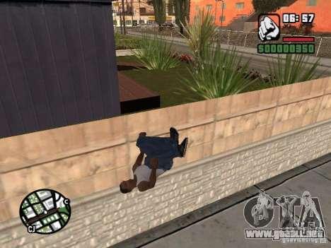 PARKoUR para GTA San Andreas séptima pantalla