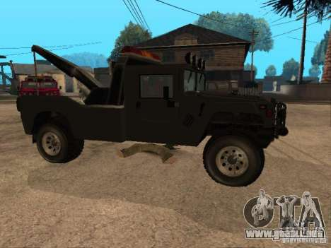 Camioneta HUMMER H1 para la visión correcta GTA San Andreas