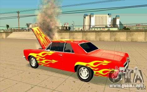 Dead car para GTA San Andreas segunda pantalla