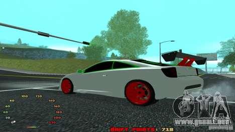 Toyota Celica v2 para GTA San Andreas left