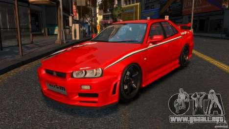 Nissan Skyline ER34 Nismo Z Tune para GTA 4