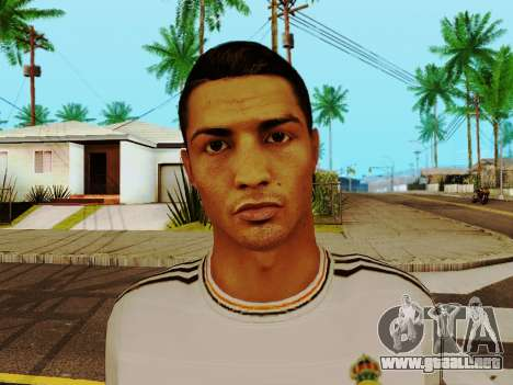 Cristiano Ronaldo v1 para GTA San Andreas sexta pantalla