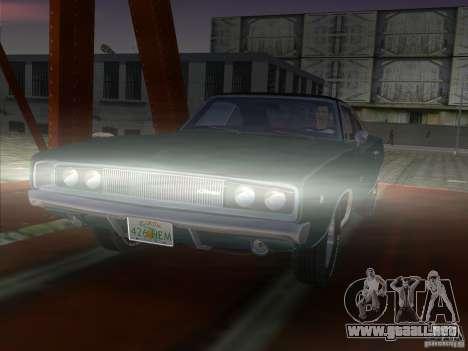 Dodge Charger 426 R/T 1968 v1.0 para GTA Vice City vista lateral izquierdo