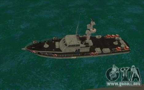 Barco militar de CODMW3 para GTA San Andreas left