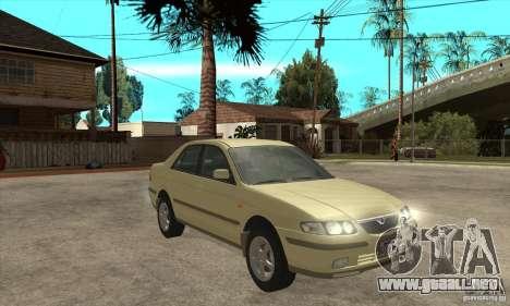 MAZDA 626 GF Sedan para GTA San Andreas vista hacia atrás