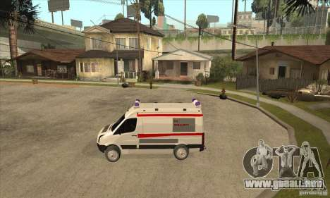 Volkswagen Crafter Ambulance para GTA San Andreas left