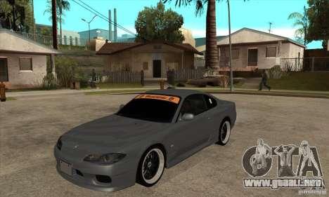 Nissan Silvia S15 JDM para GTA San Andreas