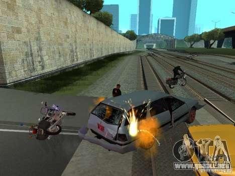 Las Granalladoras realista para GTA San Andreas tercera pantalla