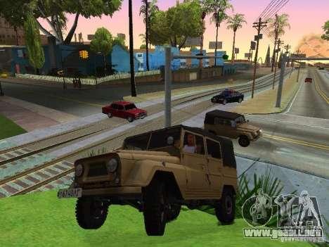 UAZ 460 para la visión correcta GTA San Andreas