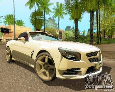 Mercedes-Benz SL350 2013 para GTA San Andreas left