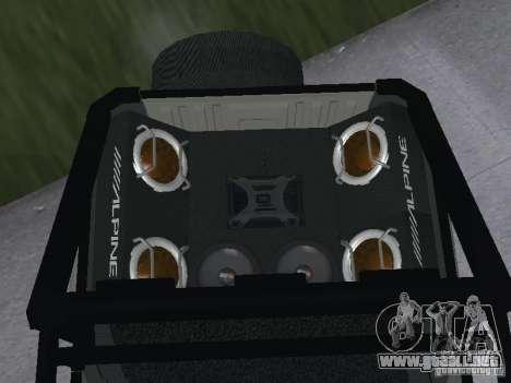 UAZ-3159 para GTA San Andreas vista posterior izquierda