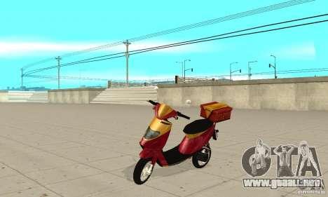 GTAIV Pizzaboy para GTA San Andreas