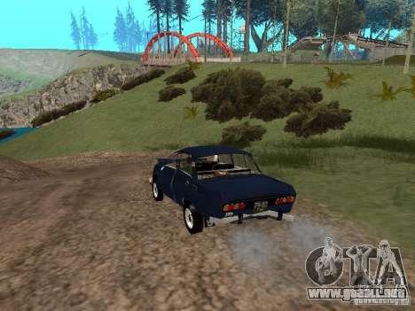 Moskvich andrajosos para la visión correcta GTA San Andreas