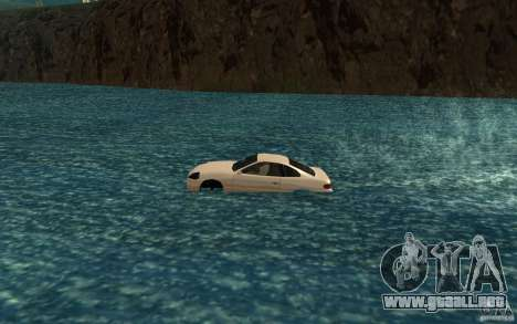 Alpha boat para GTA San Andreas left