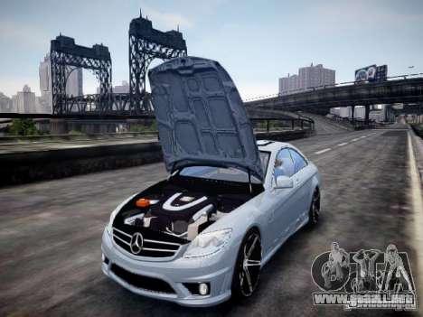 Mercedes-Benz CL65 AMG para GTA 4 vista hacia atrás