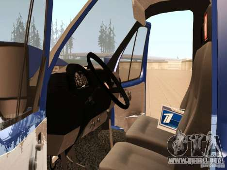3302 Gacela para vista lateral GTA San Andreas