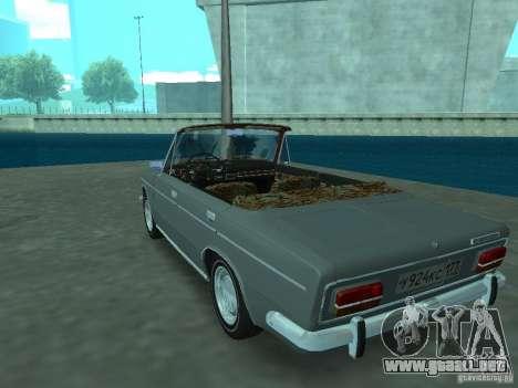 VAZ 2103 Cabrio para GTA San Andreas vista posterior izquierda