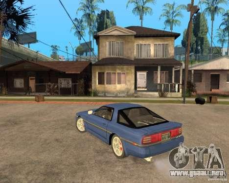 Toyota Supra MK3 para visión interna GTA San Andreas