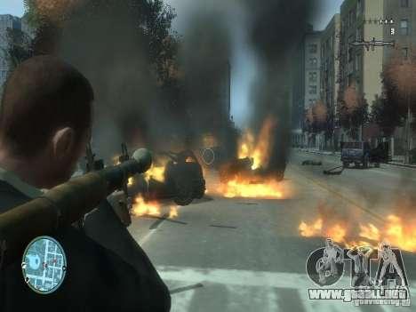 Intense Fire Mod para GTA 4 segundos de pantalla