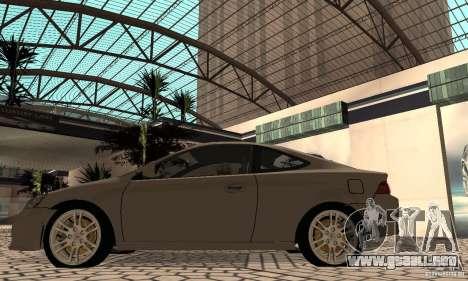 Acura RSX New para la visión correcta GTA San Andreas