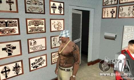 50cent_tatu para GTA San Andreas tercera pantalla