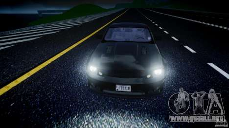 Saleen S281 Extreme Unmarked Police Car - v1.2 para GTA 4 vista superior