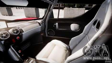 Ferrari FXX para GTA 4 vista hacia atrás