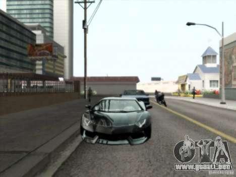 ENBSeries v1.3 para GTA San Andreas segunda pantalla