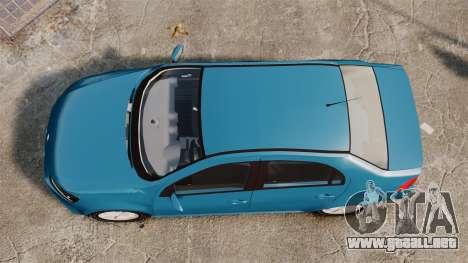 Volkswagen Voyage G6 2013 para GTA 4 visión correcta