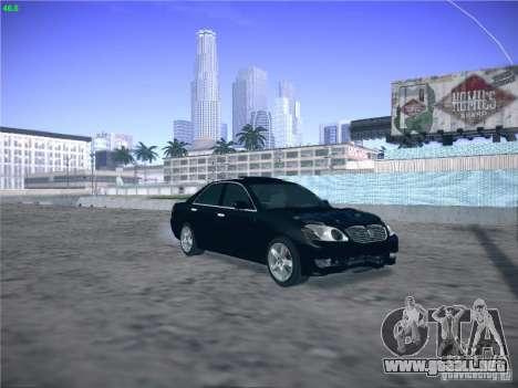 Toyota Mark II Grande para visión interna GTA San Andreas