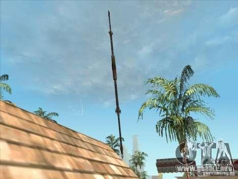 La lanza de Predator para GTA San Andreas