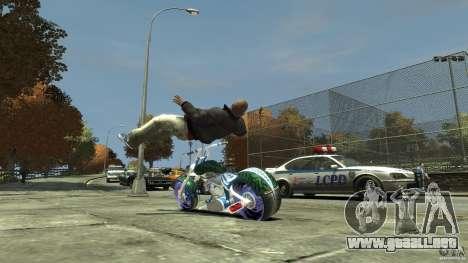 HellFire Chopper para GTA 4 visión correcta