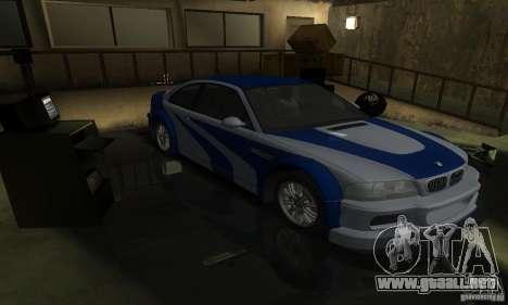 BMW M3 Tuneable para el motor de GTA San Andreas