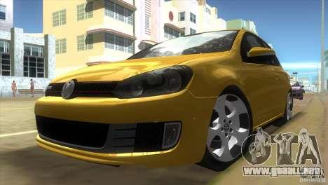Volkswagen Golf 6 GTI para GTA Vice City left