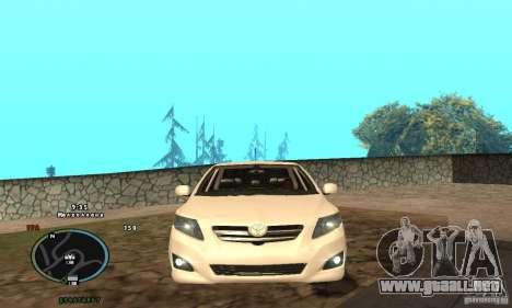 Toyota Corolla para GTA San Andreas left